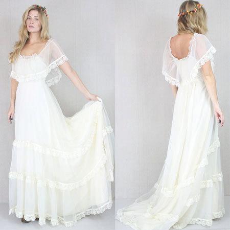Vestido de novia encaje antiguo