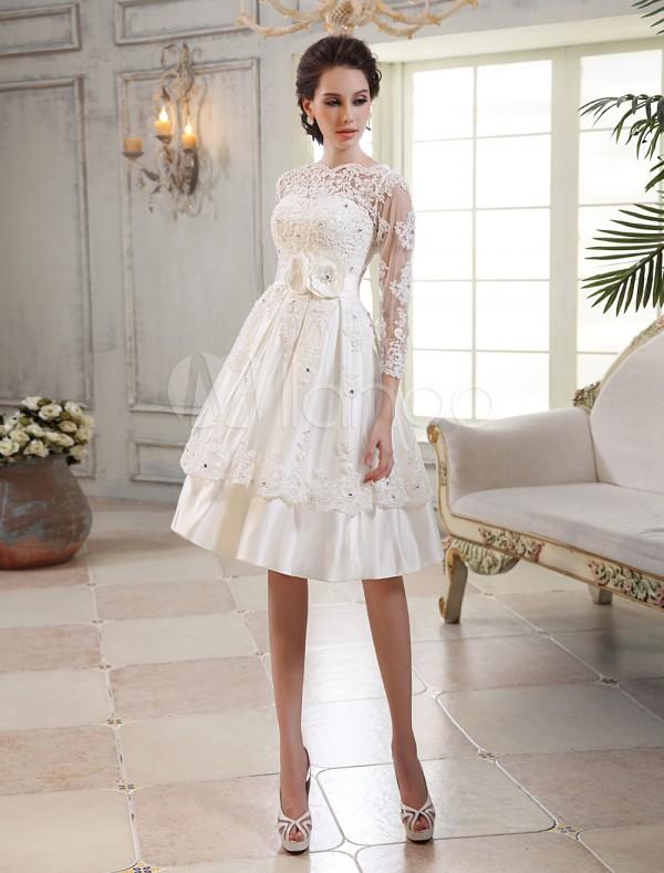Vestidos boda cortos madrid